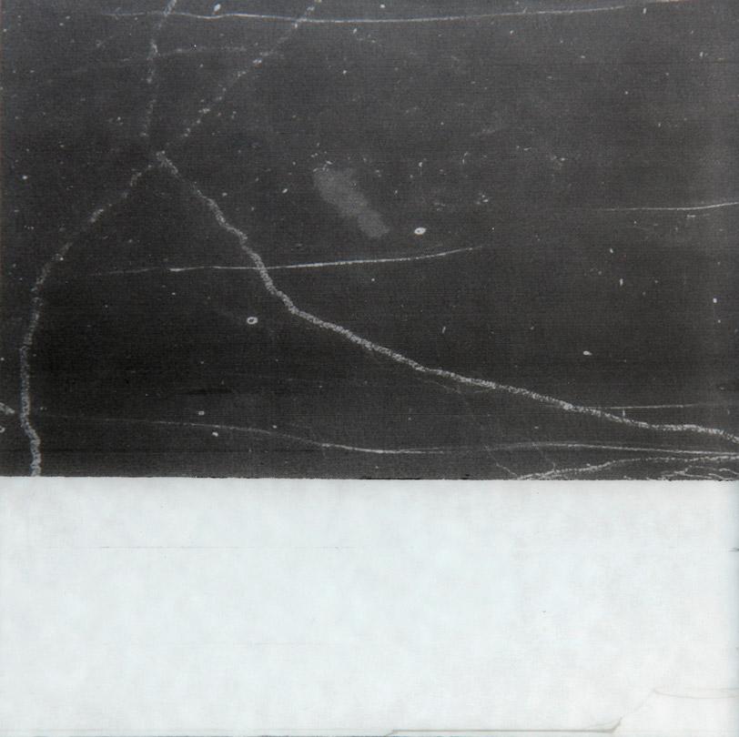 ohne titel 2012 oel/folex auf spiegelglas 15 x 15 cm