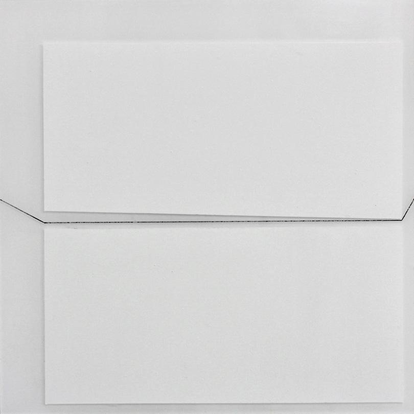in räumen  2020  emaille/acryl auf plexiglas  23 x 23 cm